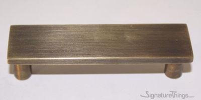 Solid Brass Rectangle Door Pulls - Furniture Door Handle