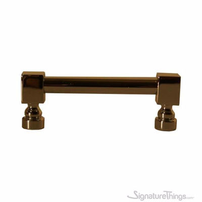 SignatureThings.com Brass Hardware Square End Pull Rib