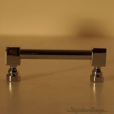 "Square End Brass Rib Pulls  - 3/8"" D, Cabinet Door Handles, Front Door Handles,  Passage Door Handles."