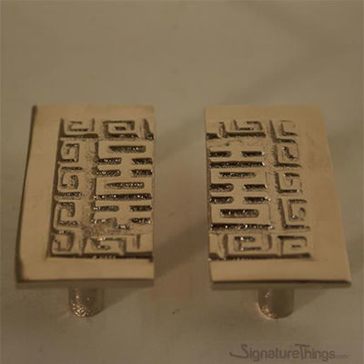"Square Split Brass Handles - 3"" Oriental Cabinet Pulls, Vintage Drawer Pulls, Furniture Hardware"