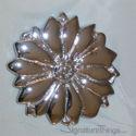 Decorative Brass Floral Cabinet Knob