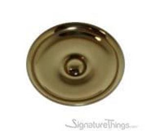 Modern Brass Concave Cabinet Knob