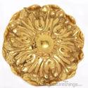 Ornate Brass Cabinet Knob