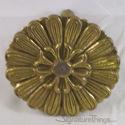 Brass Sunburst Cabinet Knob