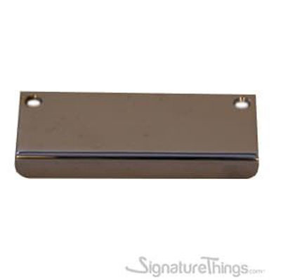 SignatureThings.com Brass Hardware Rounded Wide Edge Pull