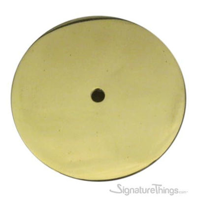Round Backplate - Brass Backplates for Cabinets Knobs | Backplates for door knobs | backplates for door handles | brass cabinet hardware | unique cabinet hardware | Drawer knob backplates | Solid brass backplates | Brass Hardware | SignatureThings.com