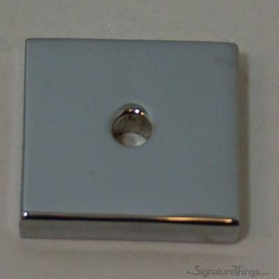 SignatureThings.com Brass Hardware Square Backplate