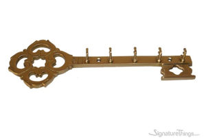 Brass Key Holder - Brass Key Rack | Key Hanger | Victorian Brass Key Holder | Brass Key Hook | Vintage Key Holder | Vintage Key Rack | Wall mounted Key Rack | Decorative Key Holder | Key Organizers | Brass Hardware | SignatureThings.com
