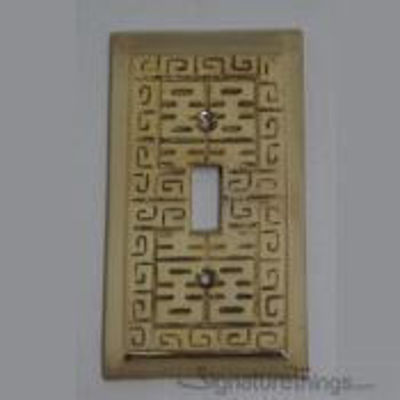 Oriental Switch Plate Single