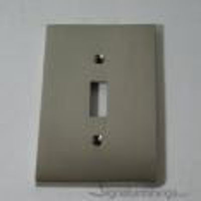 Modern Square Switch Plate - Single toggle switch plate