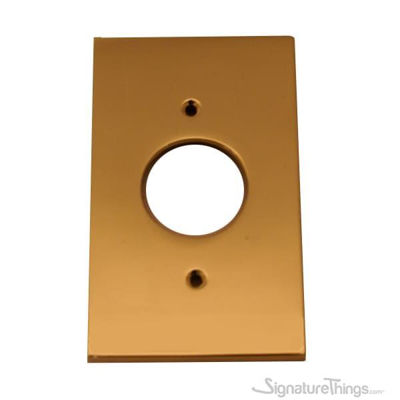 Modern Square Switch Plate Air Conditioner - single gang switch plate