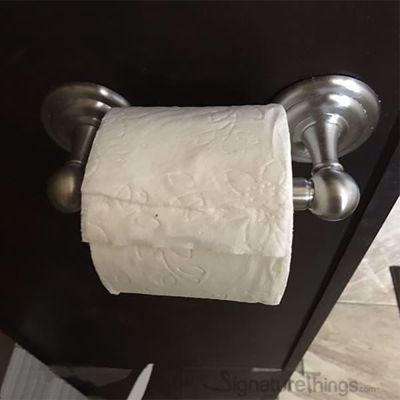 Toilet Paper Holder | Tissue Paper Holder | Toilet Paper Storage | Brass Toilet Paper Holder | Recessed Toilet Paper Holder | Toilet Tissue Holder |  Bathroom Accessories | Bathroom Hardware | Modern Bath Accessories | Brass Hardware |  SignatureThings.com