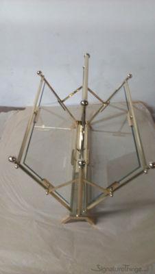 Brass Magazine Rack | Brass Magazine Holder | SignatureThings.com | Brass Hardware