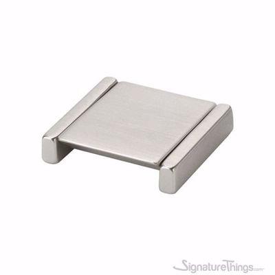 Satin Nickel Folding Cabinet Pull