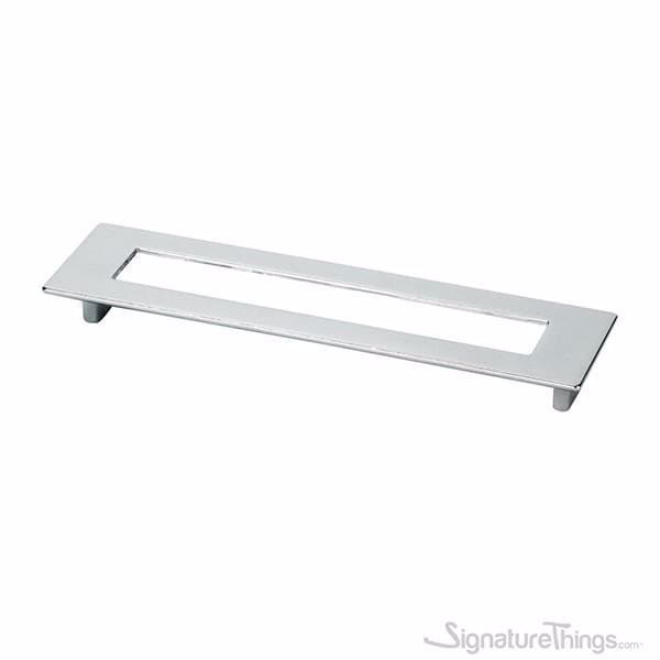 Large Rectangular Pull With Hole - 192mm, Furniture Drawer Pulls,  Modern Cabinet Handles