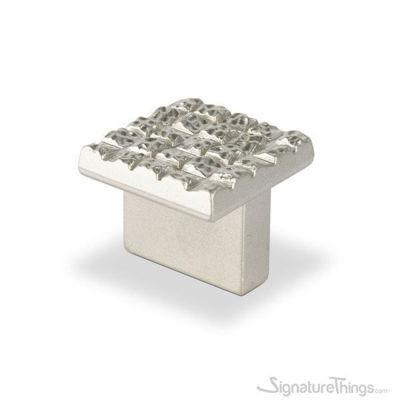 Mosaic Satin Nickel Cabinet Knob