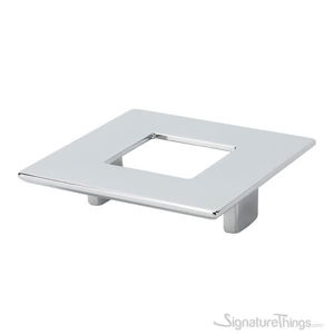 Square Pull With Hole, Cabinet Handles and Drawer Pulls