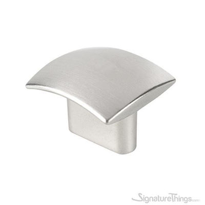Stainless Steel 34mm Rectangular Cabinet Knob