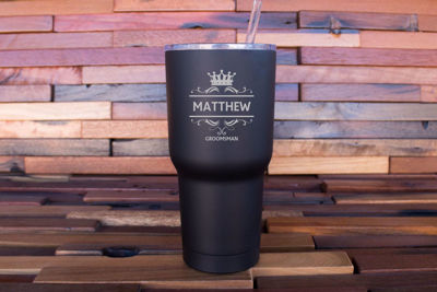 Personalized Tumblers - 30 OZ, Whiskey Glasses | Personalized Drinkware Gift Sets | Drinking Glasses | Personalized Barware | Groomsmen Gifts | Christmas Gift Ideas | SignatureThings.com