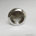 Nickel Chrome Glass Door Recess Flush Pull