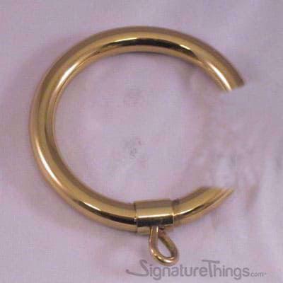 C Shape Curtain Ring with Eyelet
