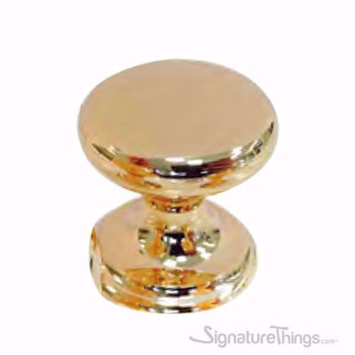 Assorted Polished Gold Circle Door Knobs