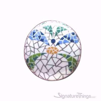 Floral Design Ceramic Knobs