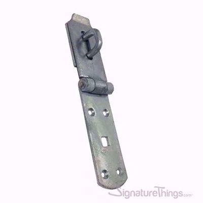 Stainless Steel Hasp and Staple