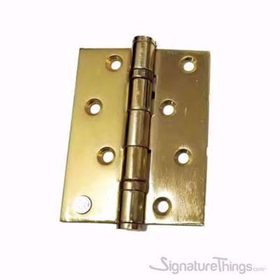 Modern Bearing Hinges - Brass / Stainless Steel, Box Hinges