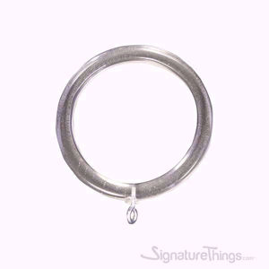 Lucite Acrylic Ring with Eyelets - Lucite Curtain Rings 1/4