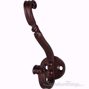 Decorative Twisted Iron Wall Hook