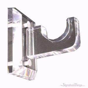 Acrylic Curtain Rod Brackets