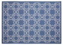Trellis Tile Rug - All Weather Indoor/Outdoor for Living Room, Bedroom, and Dining Room