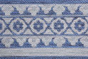 Border Rug - All Weather Indoor/Outdoor for Living Room, Bedroom, and Dining Room
