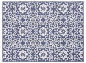 Moro Tile Rug - All Weather Indoor/Outdoor for Living Room, Bedroom, and Dining Room