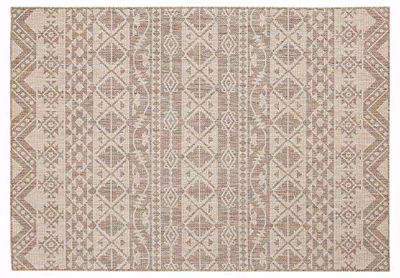 Boho Chic Rug - All Weather Indoor/Outdoor for Living Room, Bedroom, and Dining Room