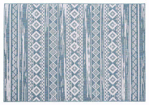 Tribal Motif - All Weather Indoor/Outdoor for Living Room, Bedroom, and Dining Room