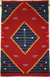 SignatureThings.com Brass Hardware Germantown Navajo Rug BJ
