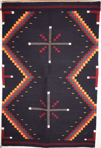 SignatureThings.com Brass Hardware Germantown Navajo Rug EJ