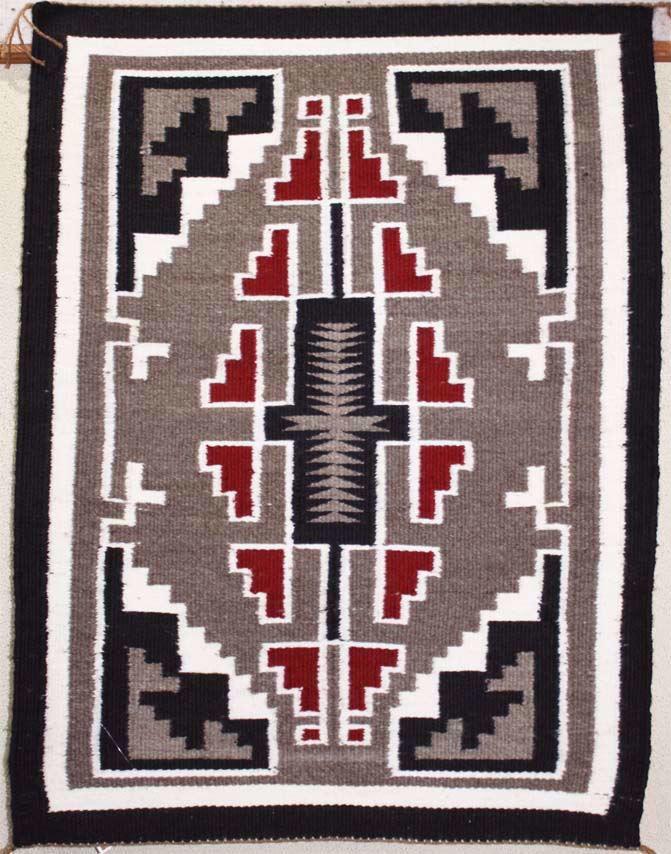 Ganado Weaving Wool Rug | Native