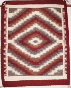 SignatureThings.com Brass Hardware Outline Navajo Rug EB