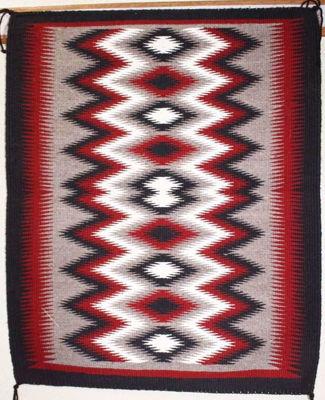 SignatureThings.com Brass Hardware Outline Navajo Rug PL