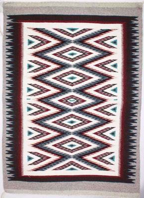 Outline Navajo Rug SG