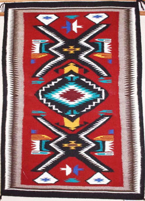 Teec Nos Pos Navajo Rug AW