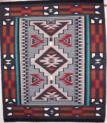 Teec Nos Pos Navajo Rug CP