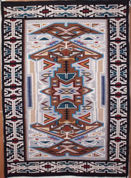 Teec Nos Pos Navajo Rug DK