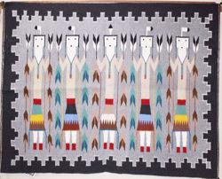 Yei Navajo Rug NB