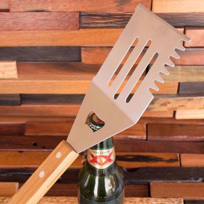 Personalized Barbecue Set With 11 Tools | BBQ Accessory Set , Custom Engraving Gifts,  Father's Day Gifts Ideas
