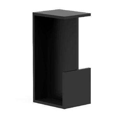 KUBE SQUARE EDGE Pocket Door Series Black on Stainless Steel