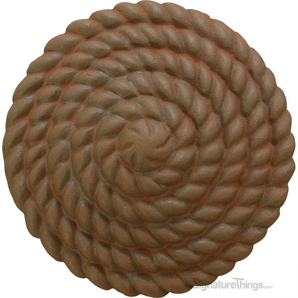 Coiled Rope Rosette [+$34.00]